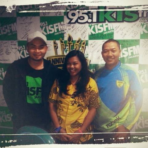 ROBEK on air @KISFMJakarta  95.1